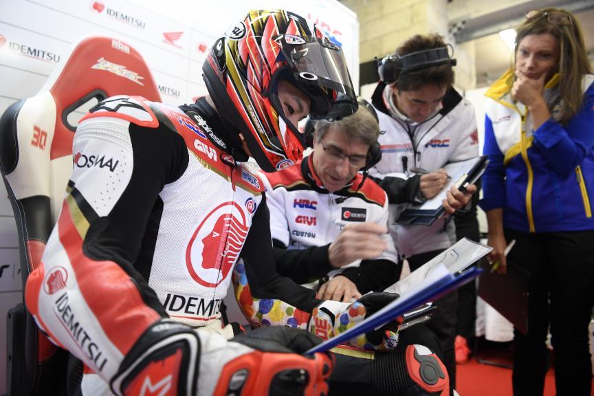 Takaaki Nakagami, LCR Honda Idemitsu, HJC Helmets Grand Prix de France