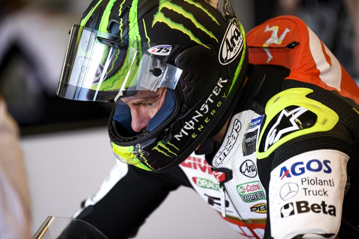 Crutchlow hospitalised after nasty Q1 crash | MotoGP™