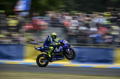 "Rossi's pace ""not so bad"""
