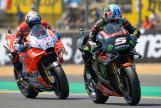 Johann Zarco, Monster Yamaha Tech 3, Andrea Dovizioso, Ducati Team, HJC Helmets Grand Prix de France