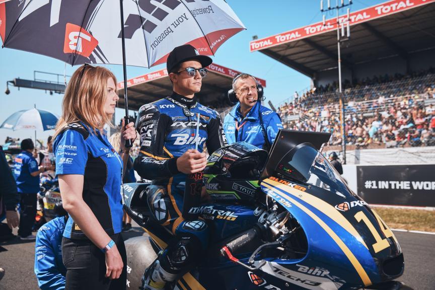 Hector Garzo, Tech 3 Racing, HJC Helmets Grand Prix de France