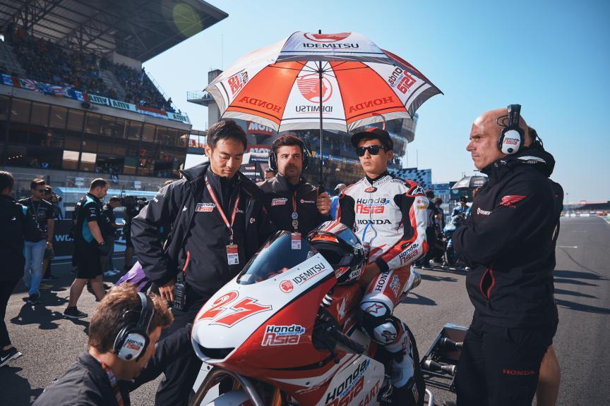 Kaito Toba, Honda Team Asia, HJC Helmets Grand Prix de France @Alex Chailan / David Piolé