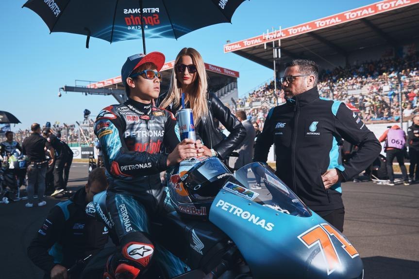 Ayumu Sasaki, Petronas Sprinta Racing, HJC Helmets Grand Prix de France @Alex Chailan / David Piolé