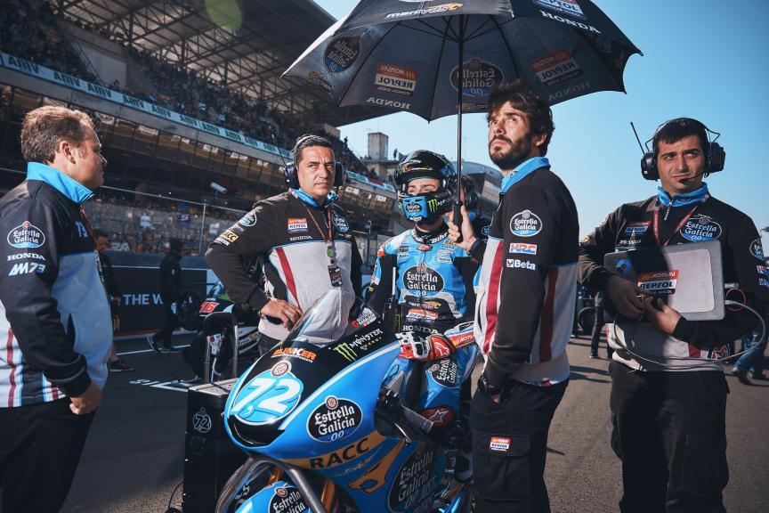 Alonso Lopez, Estrella Galicia 0,0, HJC Helmets Grand Prix de France @Alex Chailan / David Piolé