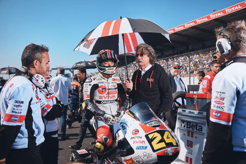 Tatsuki Suzuki, SIC58 Squadra Corse, HJC Helmets Grand Prix de France @Alex Chailan / David Piolé