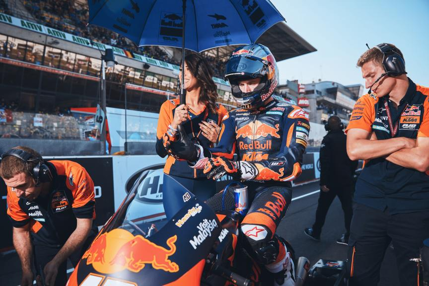 Darryn Binder, Red Bull KTM Ajo, HJC Helmets Grand Prix de France @Alex Chailan / David Piolé
