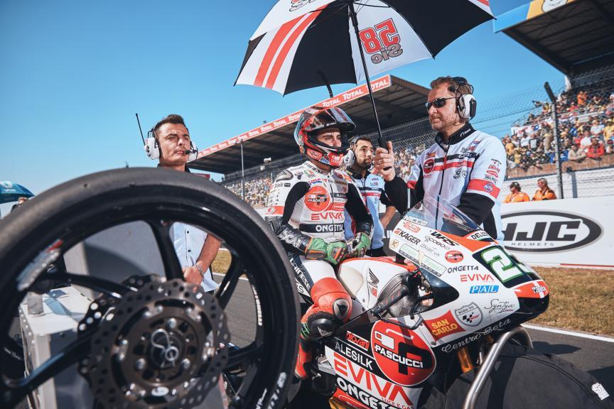 Niccolo Antonelli, SIC58 Squadra Corse, HJC Helmets Grand Prix de France @Alex Chailan / David Piolé