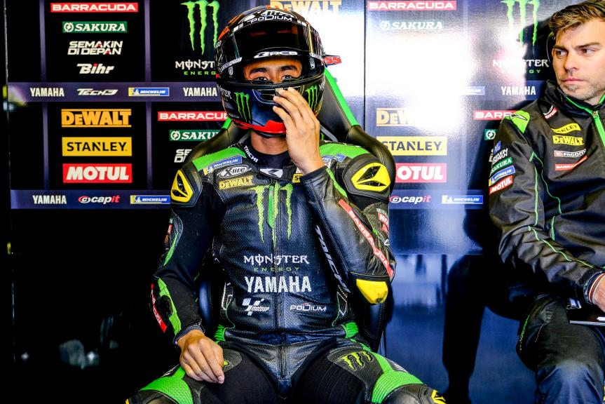 Hafizh Syahrin, Monster Yamaha Tech 3, HJC Helmets Grand Prix de France