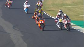 The Warm Up session for Moto2™ in its entirety for the French GP