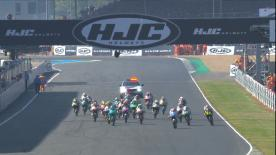 The full race session at the #FrenchGP of the Moto3™ World Championship.