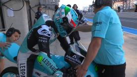 Watch the Moto3™ Warm Up session ahead of the main event in Le Mans