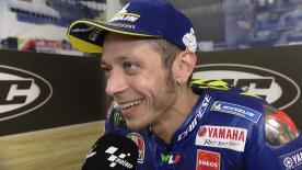 L'Italien a retrouvé le podium à l'arrivée de la course MotoGP™ du HJC Helmets Grand Prix de France avant son rendez-vous à domicile.