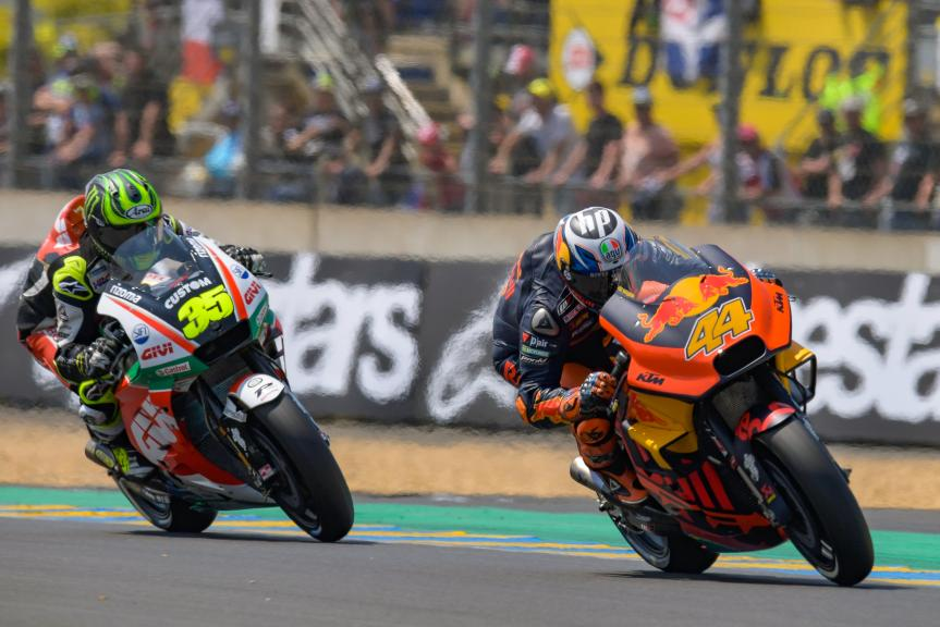 Pol Espargaro, Red Bull KTM Factory Racing, Cal Crutchlow, LCR Honda Castrol, HJC Helmets Grand Prix de France