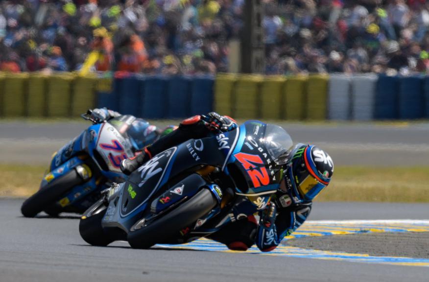 Francesco Bagnaia, Sky Racing Team VR46, Alex Marquez, Eg 0,0 Marc VDS, HJC Helmets Grand Prix de France