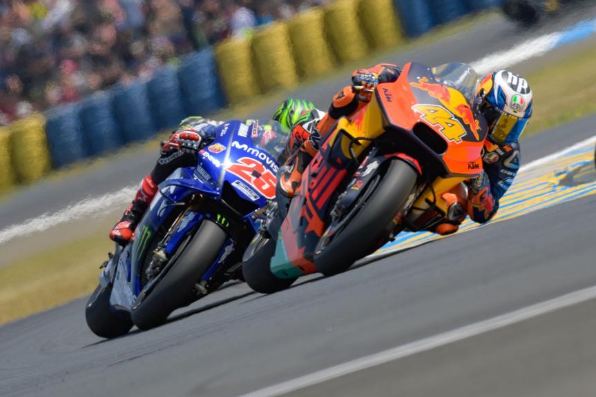 Pol Espargaro, Red Bull KTM Factory Racing, Maverick Viñales, Movistar Yamaha MotoGP, HJC Helmets Grand Prix de France