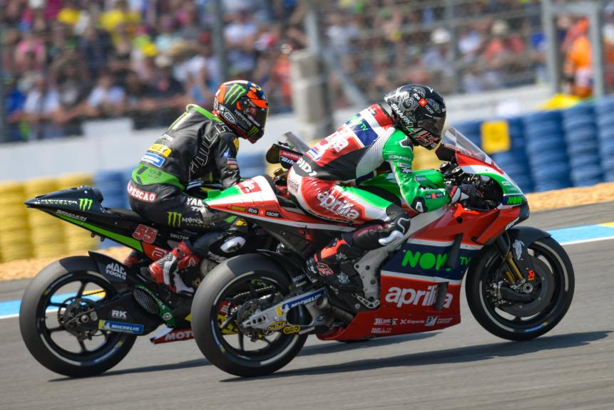 Scott Redding, Aprilia Racing Team Gresini, Hafizh Syahrin, Monster Yamaha Tech 3, HJC Helmets Grand Prix de France