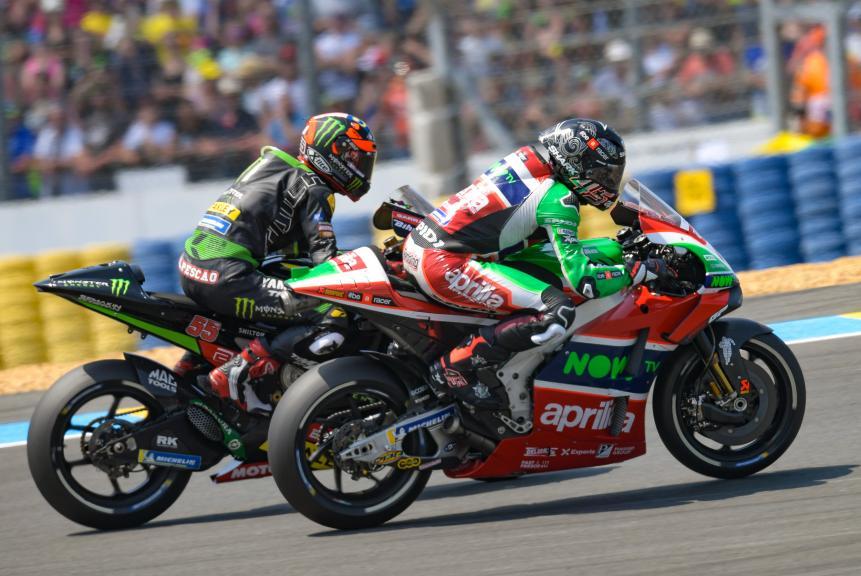 Scott Redding, Aprilia Racing Team Gresini, Hafizh Syahrin, Monster Yamaha Tech 3, HJC Helmets Grand Prix de France