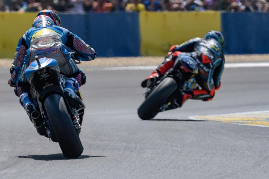Francesco Bagnaia, Sky Racing Team VR46, Alex Marquez, Eg 0,0 Marc VDS, HJC Helmets Grand Prix de France