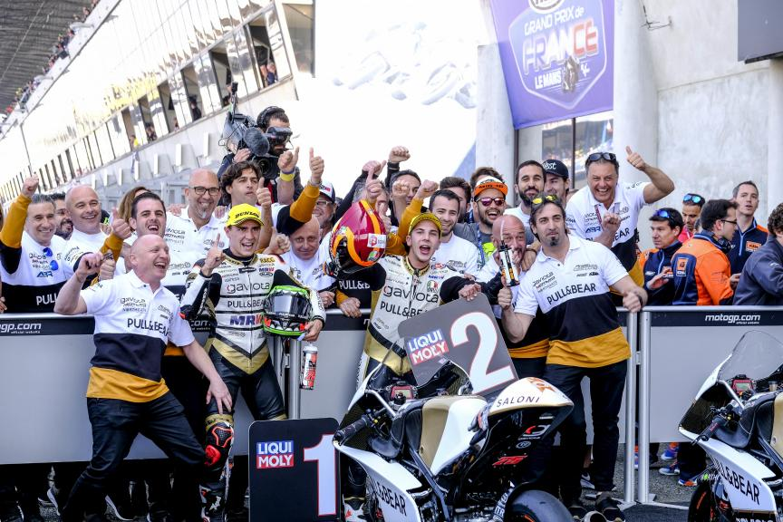 Albert Arenas, Andrea Migno, Angel Nieto Team Moto3, HJC Helmets Grand Prix de France
