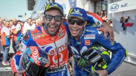 We catch up with various riders from the MotoGP™ grid to get their thoughts on the French GP