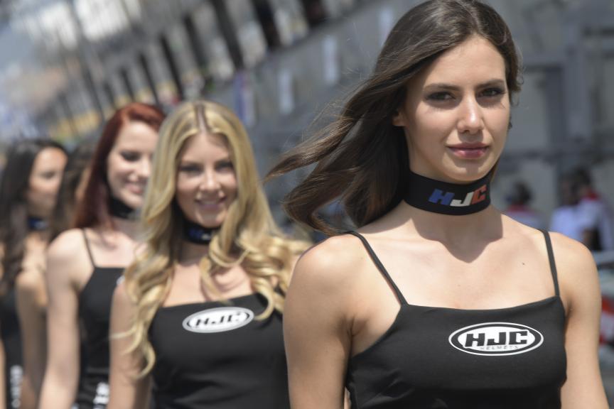 Paddock Girls, HJC Helmets Grand Prix de France