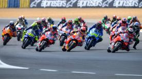 All the action from the full race session of the MotoGP? World Championship at the #FrenchGP.
