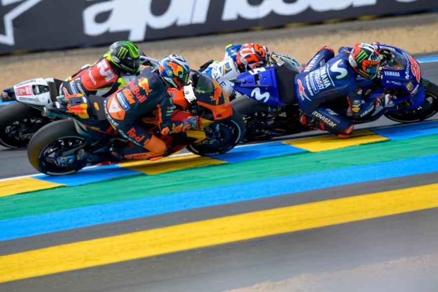 Maverick Viñales, Pol Espargaro, HJC Helmets Grand Prix de France