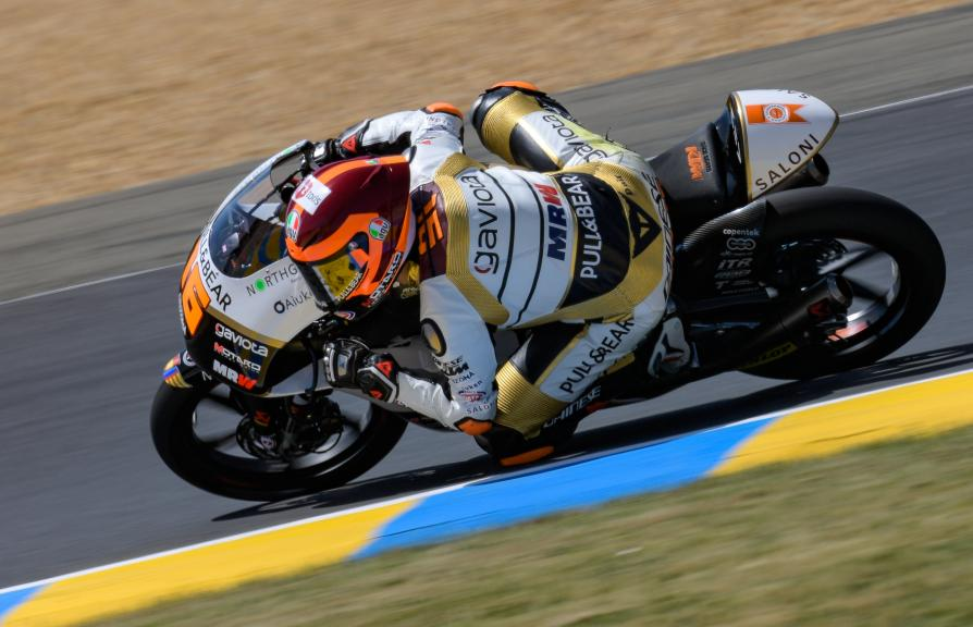 Andrea Migno, Angel Nieto Team Moto3, HJC Helmets Grand Prix de France