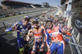 Marc Marquez, Valentino Rossi, Danilo Petrucci, HJC Helmets Grand Prix de France