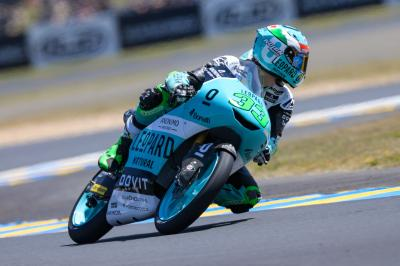 Bastianini fastest on Sunday morning