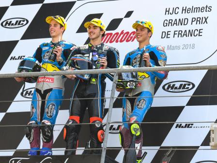Moto2, Race, HJC Helmets Grand Prix de France