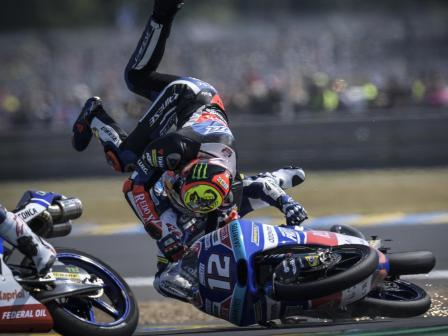 Moto3, Race, HJC Helmets Grand Prix de France
