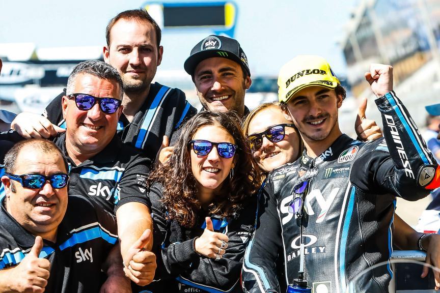 Francesco Bagnaia, Sky Racing Team VR46, HJC Helmets Grand Prix de France