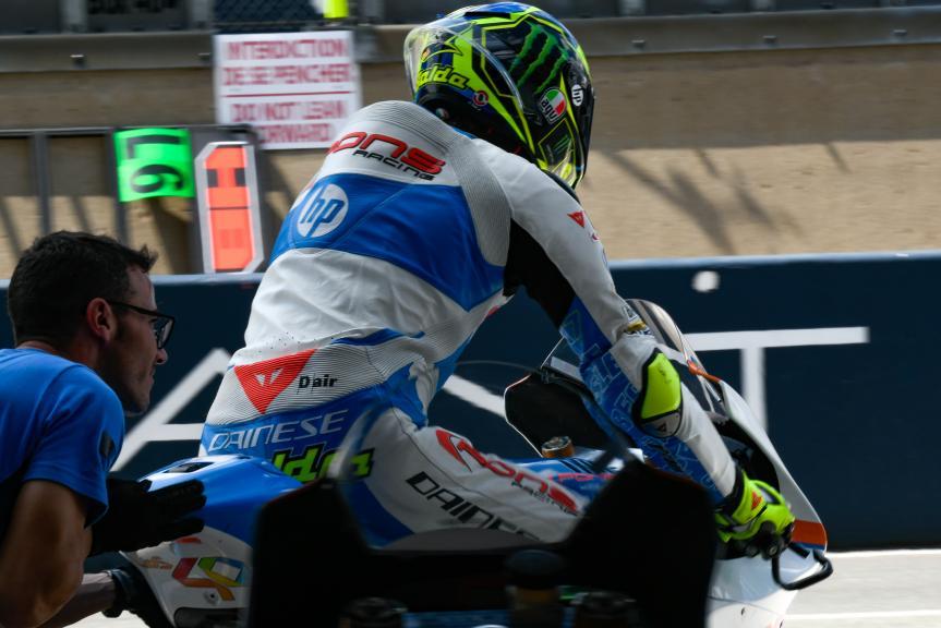 Lorenzo Baldassarri, Pons HP40, LeMans Moto2 & Moto3 Oficial Test