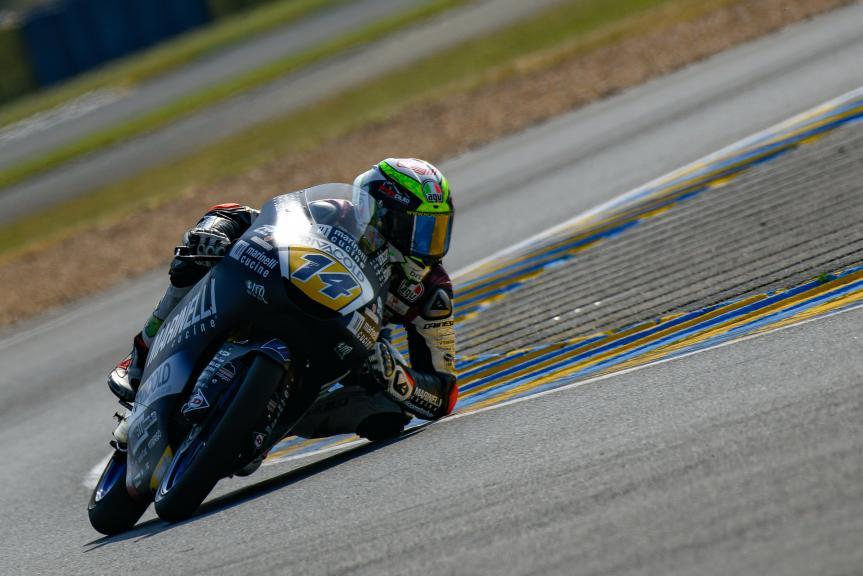 Tony Arbolino, Marinelli Snipers Team, LeMans Moto2 & Moto3 Oficial Test