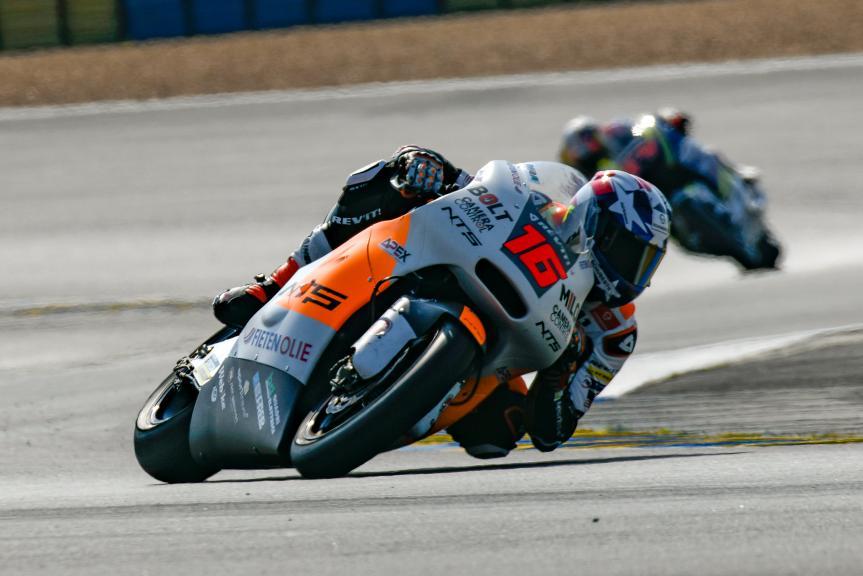 Joe Roberts, NTS RW Racing GP, LeMans Moto2 & Moto3 Oficial Test