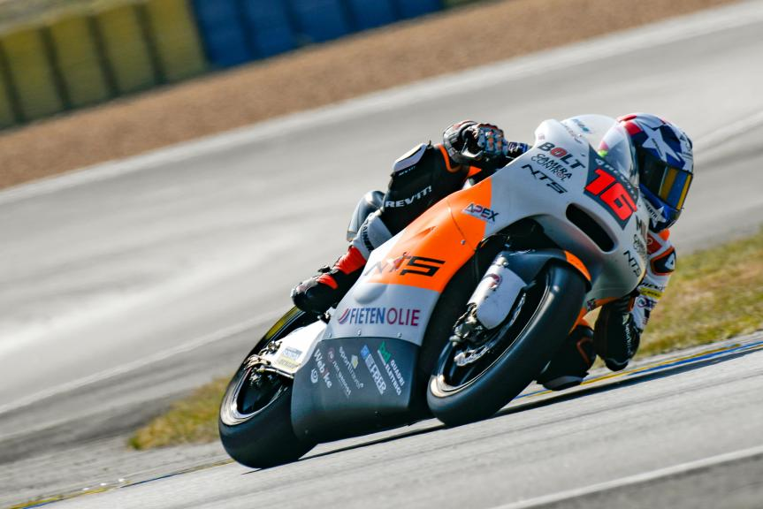 Joe Roberts, NTS RW Racing GP, LeMans Moto2 & Moto3 Oficial Test