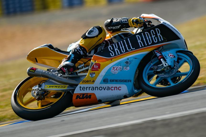 Gabriel Rodrigo, RBA BOE Skull Rider, LeMans Moto2 & Moto3 Oficial Test