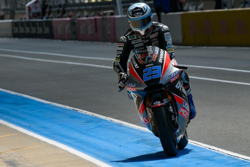 Marcel Schrotter, Dynavolt Intact GP, LeMans Moto2 & Moto3 Oficial Test