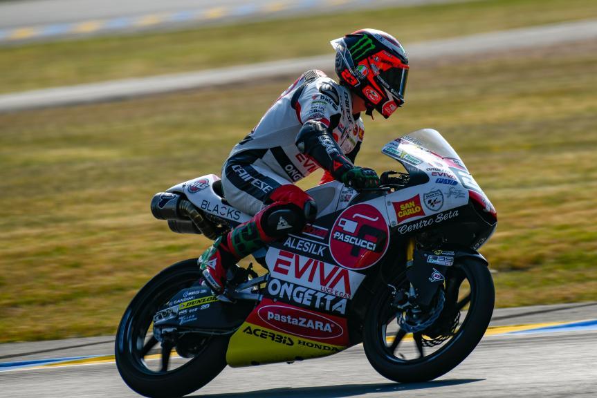 Niccolo Antonelli, SIC58 Squadra Corse, LeMans Moto2 & Moto3 Oficial Test