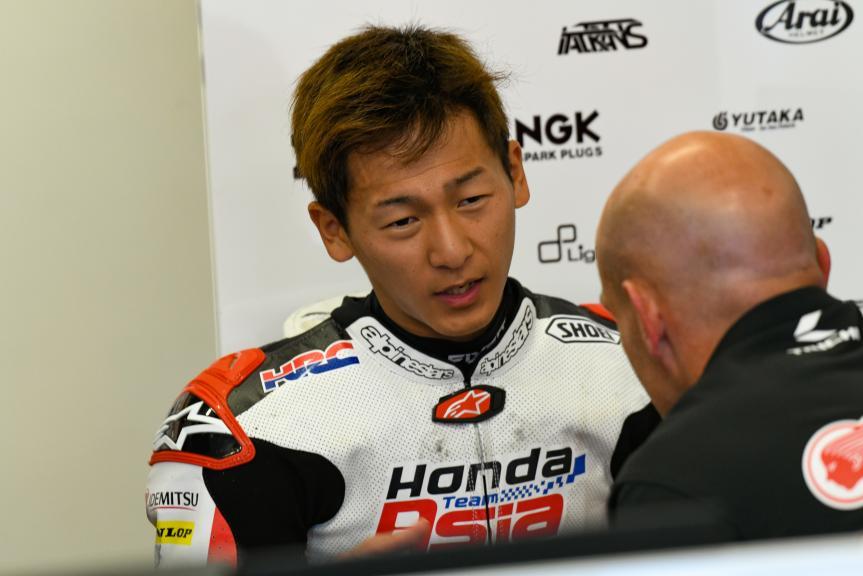 Kaito Toba, Honda Team Asia, LeMans Moto2 & Moto3 Oficial Test