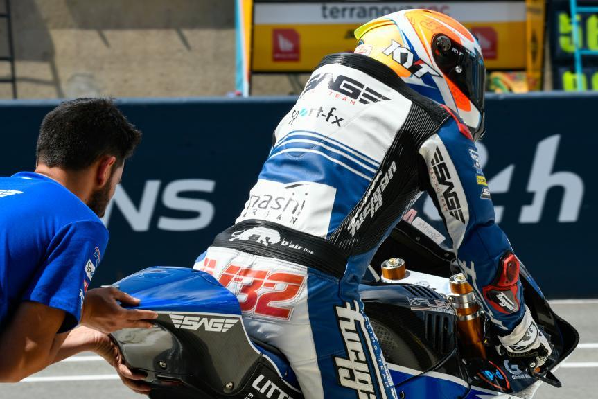 Isaac Vinales, SAG Team, LeMans Moto2 & Moto3 Oficial Test