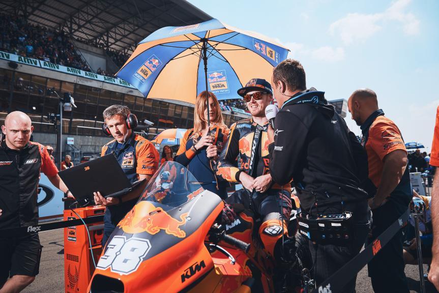 Bradley Smith, Red Bull KTM Factory Racing, HJC Helmets Grand Prix de France @Alex Chailan / David Piolé