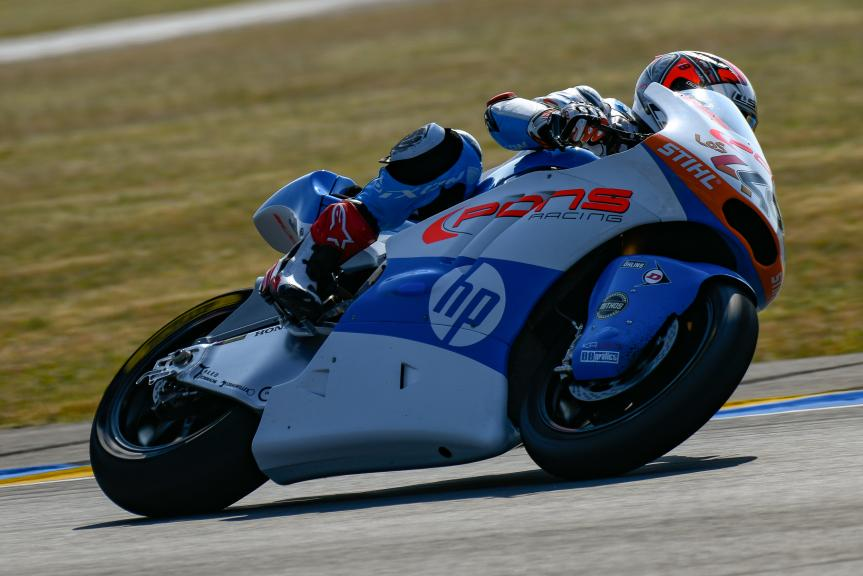 Hector Barbera, Pons HP40, LeMans Moto2 & Moto3 Oficial Test