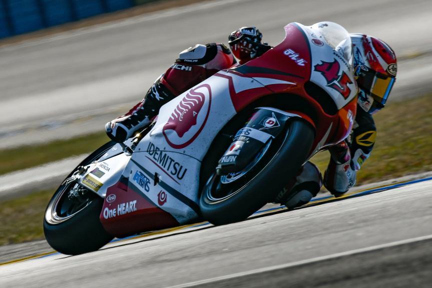 Tetsuta Nagashima, Idemitsu Honda Team Asia, LeMans Moto2 & Moto3 Oficial Test