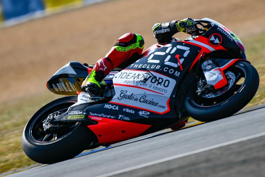 Eric Granado, Forward Racing Team, LeMans Moto2 & Moto3 Oficial Test