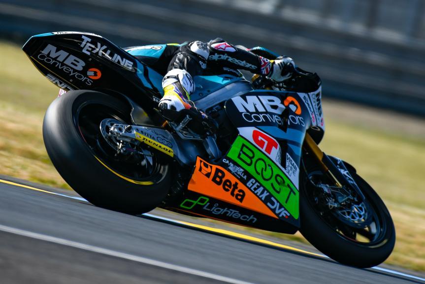 Danny Kent, Speed Up Racing, LeMans Moto2 & Moto3 Oficial Test
