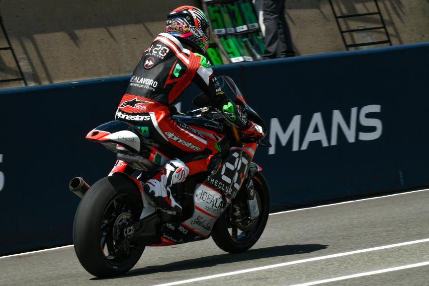 Stefano Manzi, Forward Racing Team, LeMans Moto2 & Moto3 Oficial Test