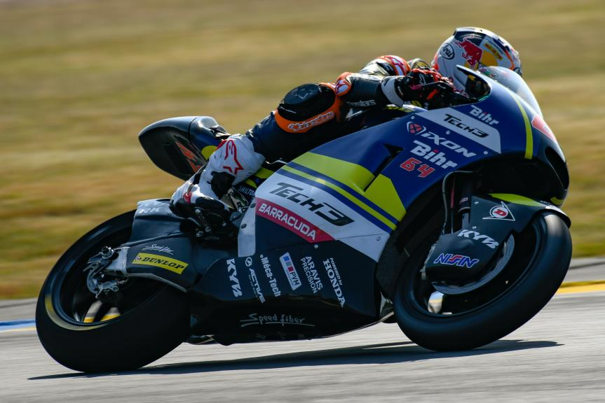 Bo Bendsneyder, Tech 3 Racing, LeMans Moto2 & Moto3 Oficial Test
