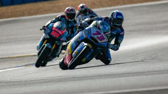 LeMans Moto2 & Moto3 Official Test